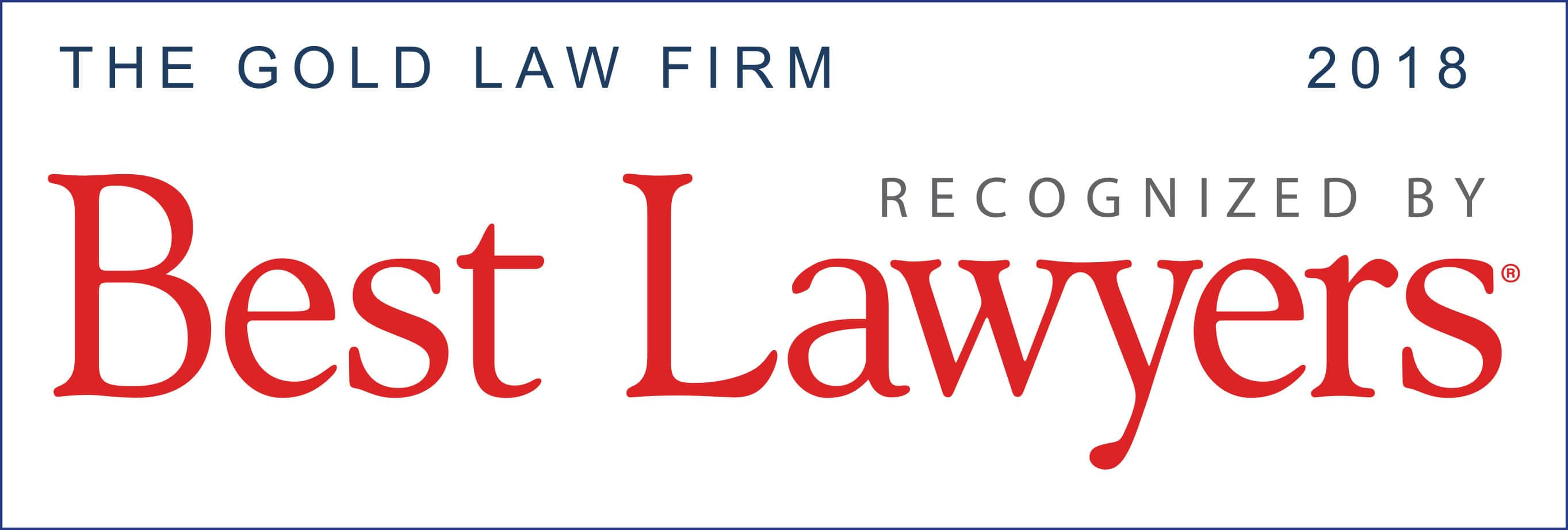 The Gold Law Firm Best Lawyers 2018