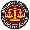 Million Dollar Adovcates Forum logo