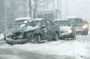 Traffic in snowy weather | Tips for Driving in Winter Weather