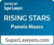 Denver Attorney Pamela Maass Super Lawyer Badge