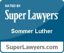 Sommer Luther Super Lawyer Badge