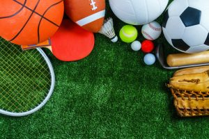 sports equipment on the grass | Youth Sports Sexual Abuse Attorney