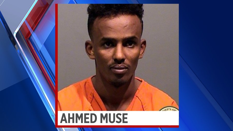 Uber driver accused of sexually assaulted a 15-year-old-girl in Jefferson County, Ahmed Muse