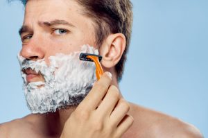 man shaving beard | Gillette's 'We Believe' Ad