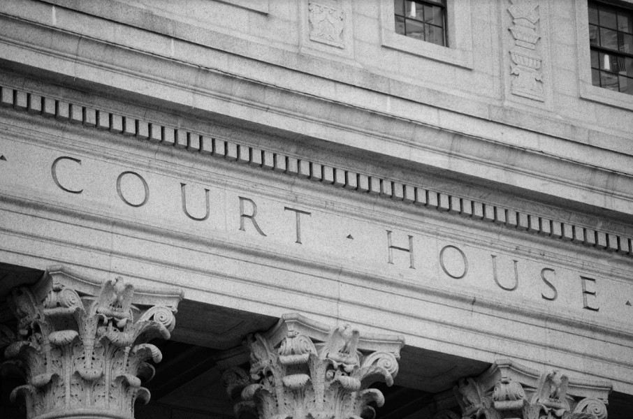 outside picture of the federal court house | what to do if your case is against the government