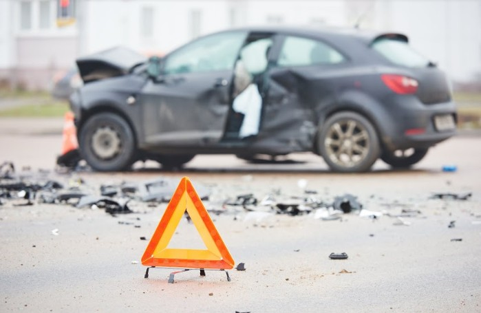 a car in wreck following a gruesome accident | head-on collision in Cheyenne County