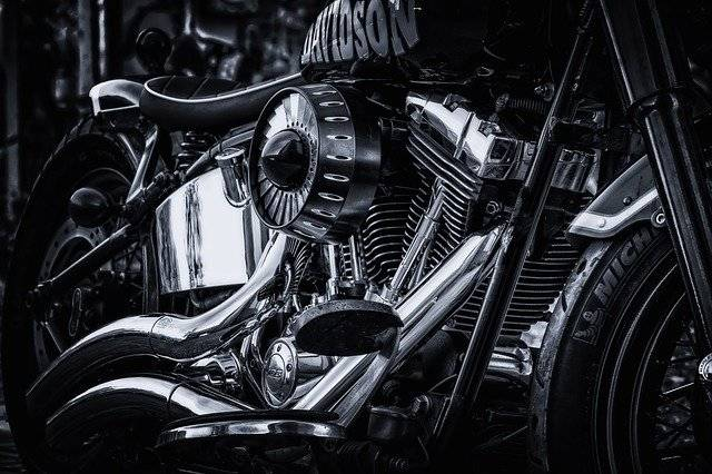 closed up photo of the motorcycle parts | Fatal Hit-and-Run Motorcycle vs Car Accident in Pueblo