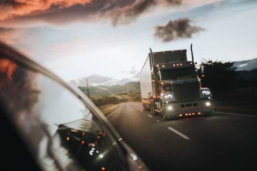 semi-trailer truck moving on the road | Fatal Semi-Truck Accident in Park County